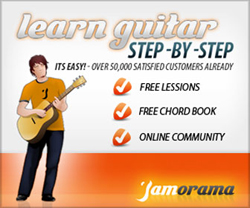 Free Guitar Lessons with Jamorama